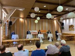 Vier CDU-Bewerber für die Bundestagskandidatur stellen sich vor