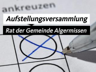 Termin: CDU-Mitgliederversammlung und Kandidatenaufstellung