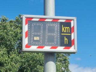 Verkehrsüberwachung in der Hottelner Straße